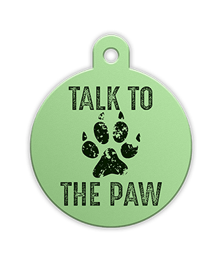Petfetch Pet Tag - Lucky I'm Cute Funny Pet Tag - PetfetchID