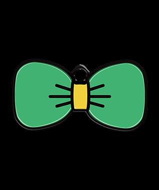 Bow Tie Pet Tag - Petfetch - Cute Pet Tags - PetfetchID