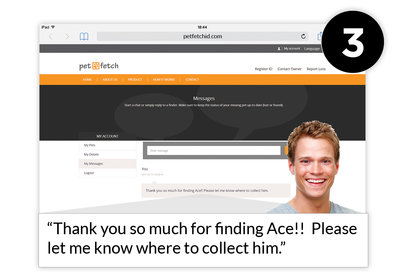 Petfetch - Pet Loss Protection System