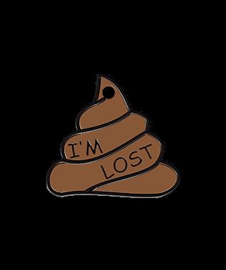 Petfetch Poop Emoji Pet Tag - Funny Pet Tags - PetfetchID